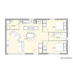 Bien Plan Petite Maison 2 Chambres #1: maison-60m2-7.jpg