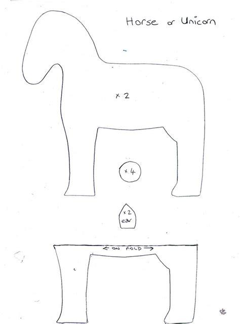 felt horse pattern pdf 17 beste afbeeldingen over felt horse zebra donkey camel
