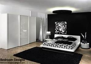 Black And White Bedrooms by 5 Black And White Bedroom Designs Ideas
