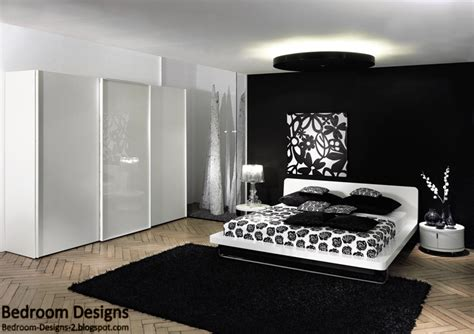 Black Bedroom Furniture Decorating Ideas | 5 black and white bedroom designs ideas