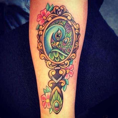 mirror tattoo 6 mirror on forearm