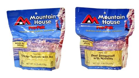 Mountain House Meals by Cold Prep C Food Instant Meal No Water Required