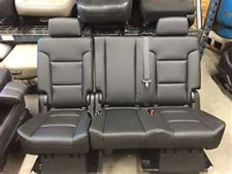 tahoe 2nd row bench seat tahoe seats ebay