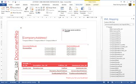word layout in nav 2015 document reporting in microsoft dynamics nav 2015 simplanova