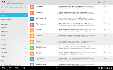 tutorial gmail android download new gmail 4 7 apk with vacation responder send