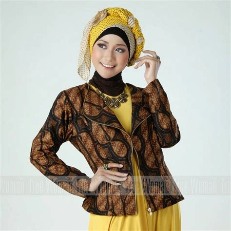 Kaos Lengan Panjang Pesona Indonesia 1 Uk 3 L 10 baju kantor batik wanita muslimah modern 2017 model baju batik kantor
