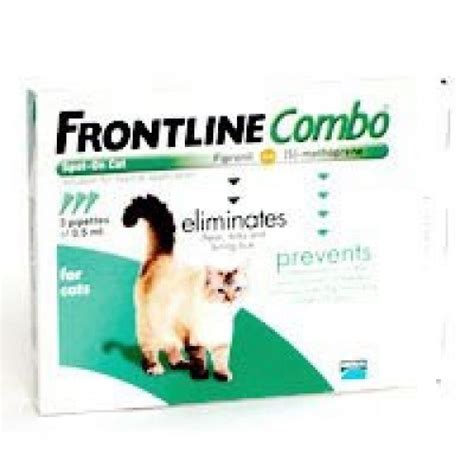 frontline plus for cats frontline plus combo for cats all weights 6 pipettes