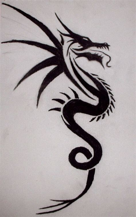 tattoo gallery dragon tribal 36 best tribal dragon tattoos images on pinterest tribal