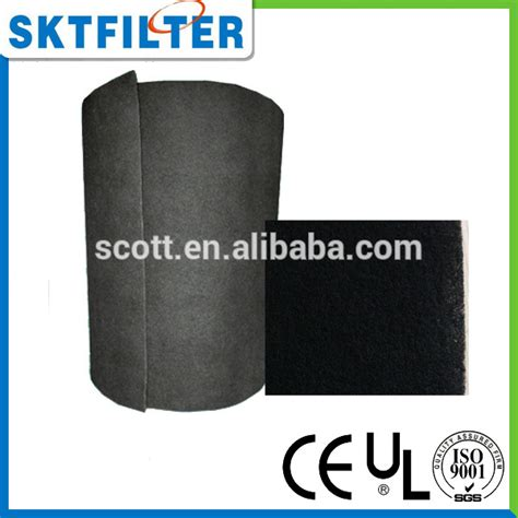 Activated Carbon Media Filter Air activated carbon air filter media roll for air pufificr buy activated carbon air filter media
