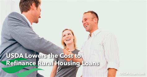 rural housing loan requirements usda lowers the cost to refinance rural housing loans usda loan