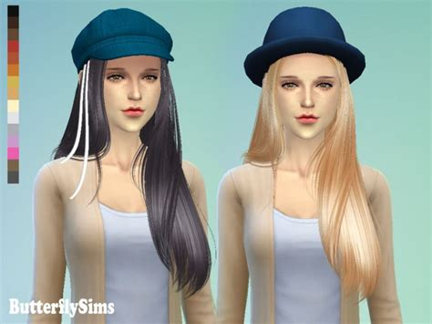 butterfly sims hair sims 4 hair 099 by yoyo pay at butterfly sims 187 sims 4 updates