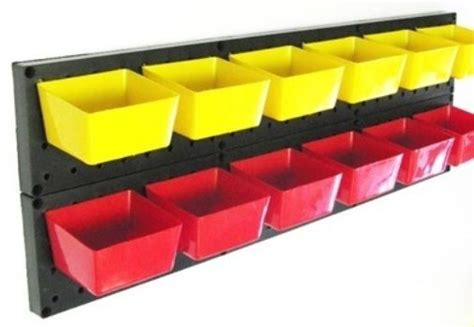 pegboard storage containers 10 new pegboard storage bins 5 5 yellow