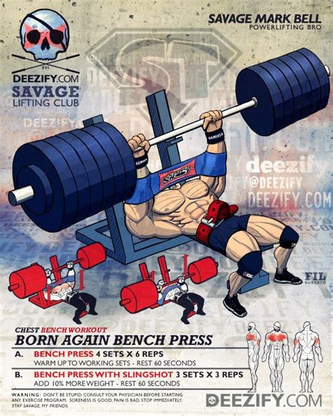 bench press instructions 17 best images about chest exercises and workouts on