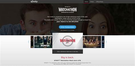 Watchathon Sweepstakes - xfinitysweepstakes com xfinity watchathon 2016 sweepstakes