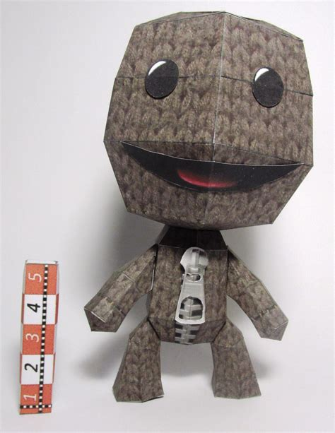 Sackboy Papercraft - sackboy littlebigplanet by rafaeltacques on deviantart