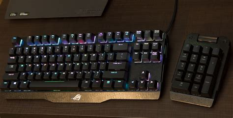 Keyboard Asus Claymore asus rog claymore and spatha rgb keyboard and mouse oc3d news