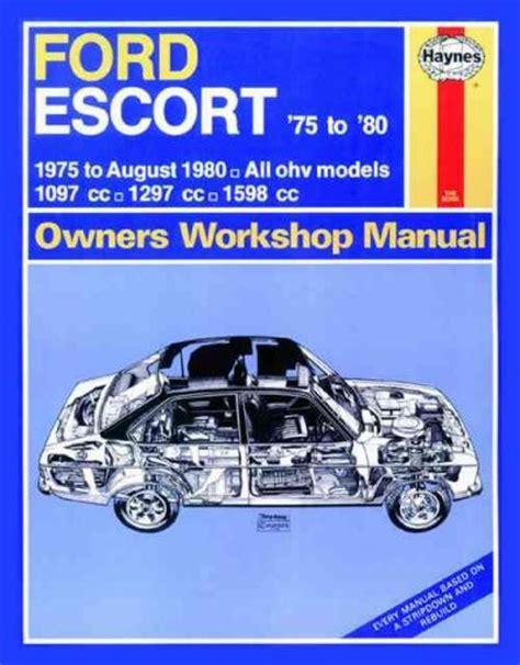 ford escort   haynes service repair manual sagin