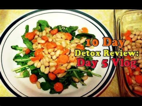 10 Day Total Detox by 10 Day Anytime Detox Cleansing Day 5 Vlog Review