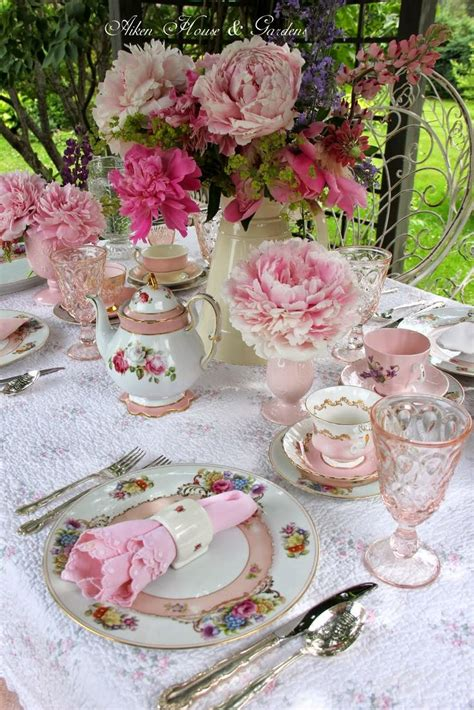 images about tea parties on pinterest table decorations tea party table decoration ideas with rose flowers 17 best