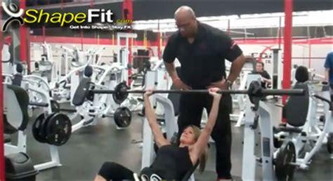 high rep bench press high intensity chest workout for women part 2