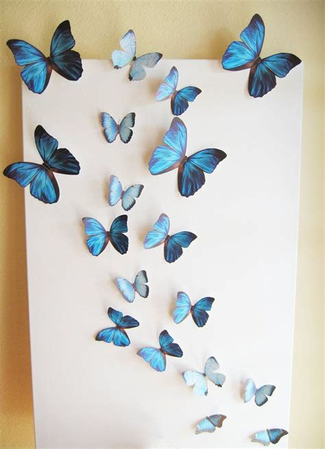 Wall Decoration With Butterfly by Best 25 Butterfly Wall Decor Ideas On Diy