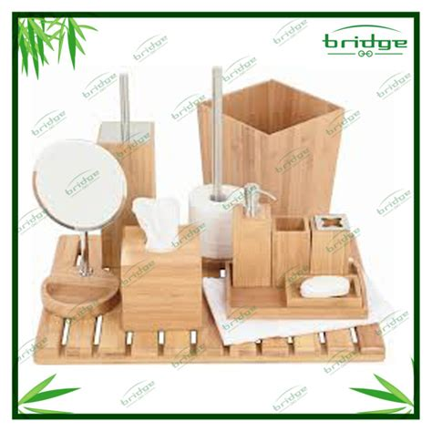 Badezimmer Accessoires Holz by Bad Accessoires Bambus Gispatcher