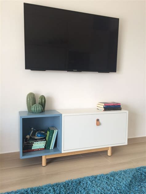 eket hack eket ikea hack console tv wall mount easy mount e
