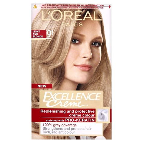 loreal excellence hair color