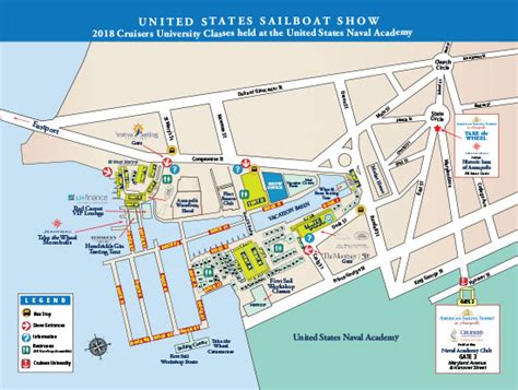 annapolis boat show map united sailboat show show layout