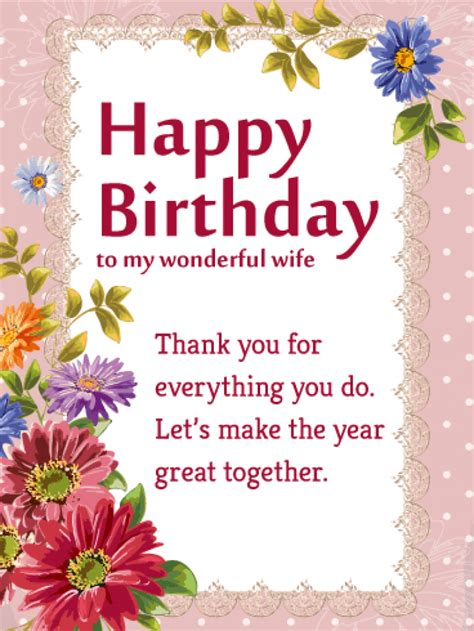 printable birthday cards for a wife birthday card for my wife gangcraft net