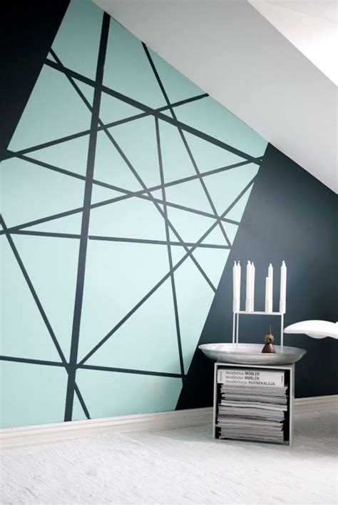 pattern wall painting ideas graphic wall geometric coloring books pinterest