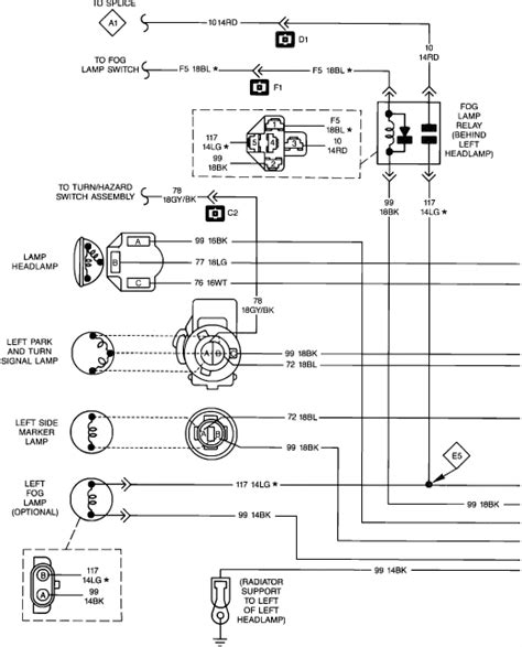jeep yj light wiring wiring diagram schemes