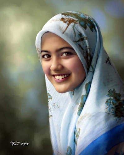 Jilbab Syar I Anggun Wanita Anggun Pakai Jilbab Pasti Gadis Seperti Ini Jadi
