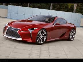 lexus lf lc sports coupe concept 2012 car pictures