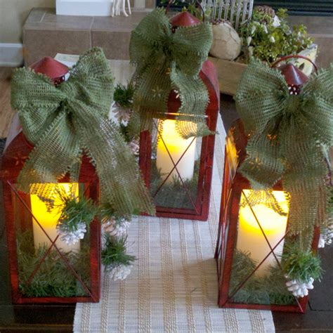 diy christmas lanterns outdoortheme com