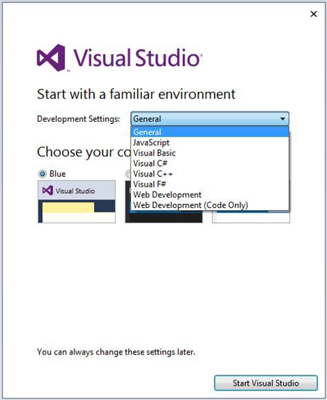 reset settings in visual studio 2015 how to install visual studio 2015