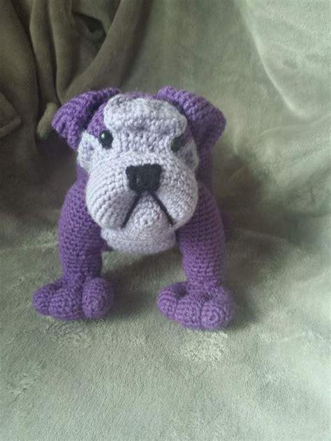 crochet pattern english bulldog 89 best images about bulldog crochet on pinterest cross