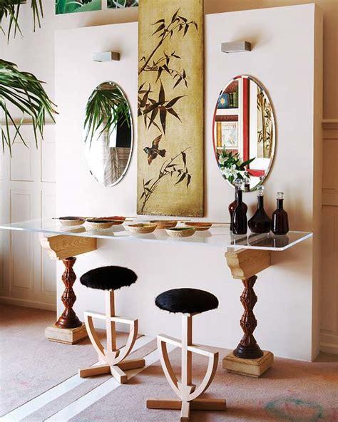Mirror Table Decor by Stylish Home Design Ideas Console Table Design