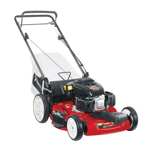worldlawn 28 in briggs stratton recoil start walk