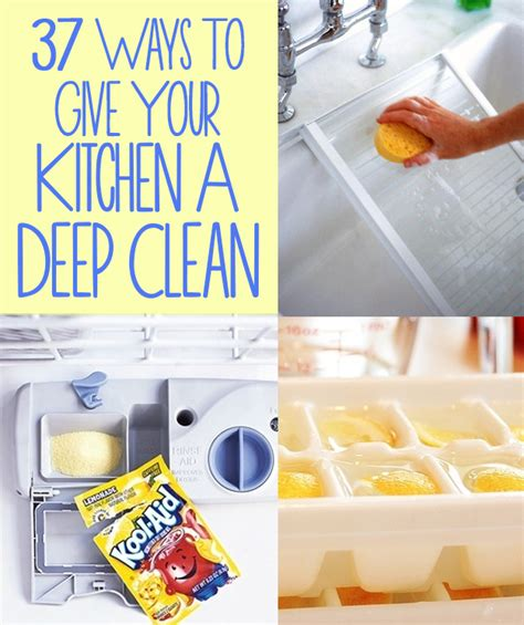 how to clean a kitchen 37 ways to give your kitchen a deep clean
