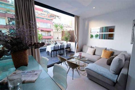 location airbnb dun appartement avec terrasse  barcelone