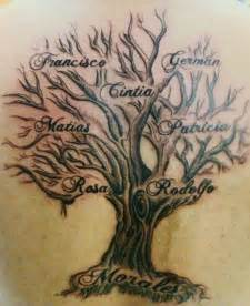 family tree tattoos let your family know you love them