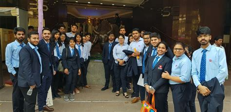 Mba In Financial Markets In Mumbai by Mba Bba And Bcom Students Of Cbs Successfully Completed
