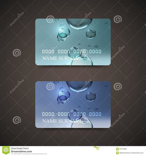 shiny templates credit card novafile credit card design template with transparent water bubbles