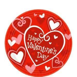 valentines day plates be mine valentines day dessert plates 8ct city