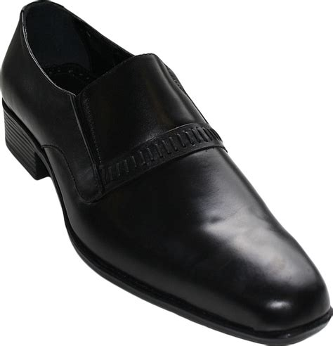business boots business shoes made of real cowhide color black