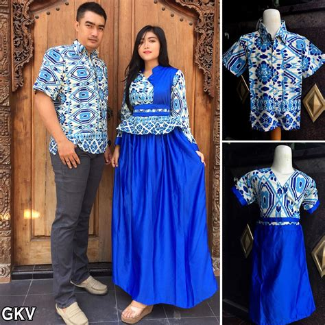 Baju Batik Keluarga 2016 jual model baju batik sarimbit keluarga terbaru