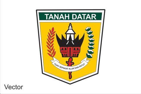 logo kabupaten tanah datar cari logo