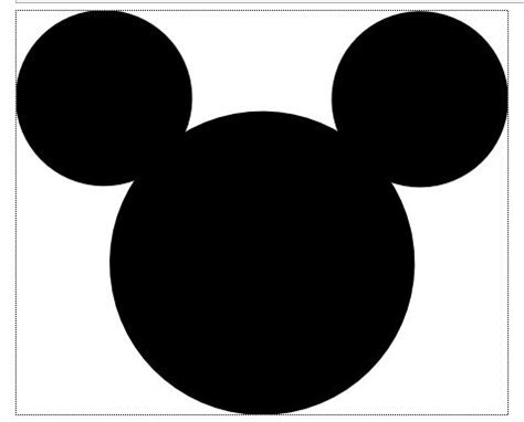 free mickey mouse template mickey mouse template free clipart best