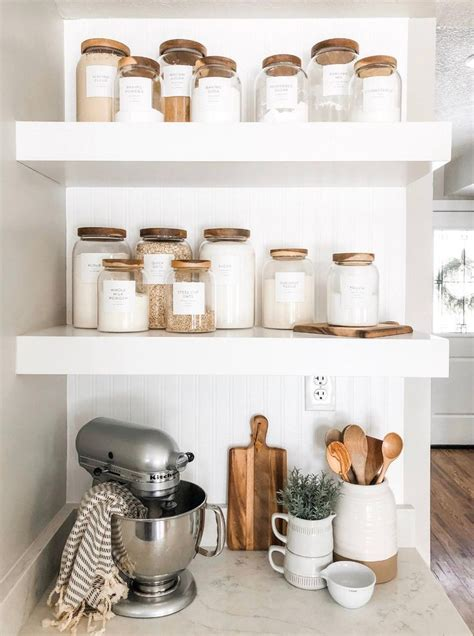 minimalist pantry labels personalization